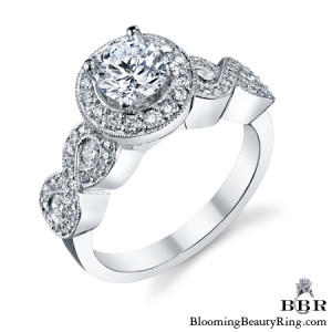 .75 ctw. 14K Gold Diamond Engagement Ring – nrd575e