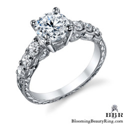 Newest Engagement Ring Design - nrd-578e