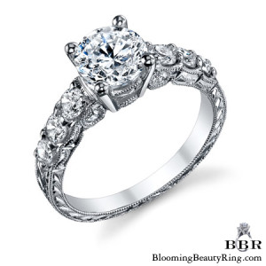 .68 ctw. 14K Gold Diamond Engagement Ring – nrd578e