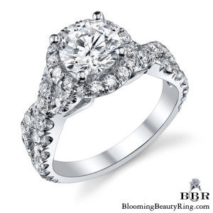 1.25 ctw. 14K Gold Diamond Engagement Ring – nrd580-1