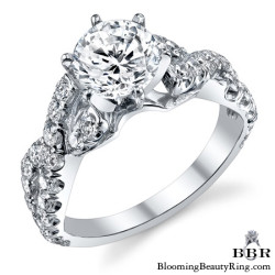 Newest Engagement Ring Design - nrd-580