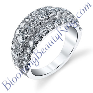 VWR-603 | Rising Center Vintage Wedding Ring