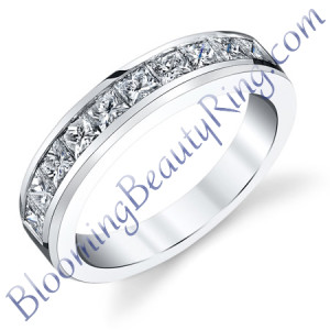 VWR-609b | Princess Vintage Wedding Ring