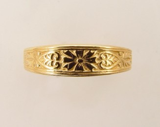 Antique and Vintage Style Wedding Bands