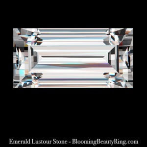 .50 ct. Emerald Cut Lustour Stone