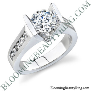 .55 ctw. 14K Gold Diamond Engagement Ring – nrd376