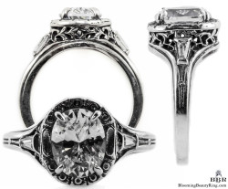 ov033bbr vintage filigree rings
