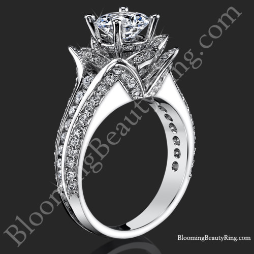 The Original Small Blooming Beauty Engagement Ring