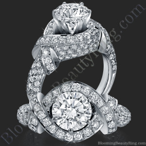 The Eternal Embrace Diamond Engagement Ring – bbr327