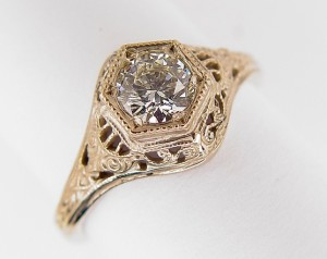 Vintage and Antique Filigree Rings and Jewelry