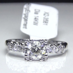 Old European Cut Diamond Vintage Engagement Ring<br>$1499