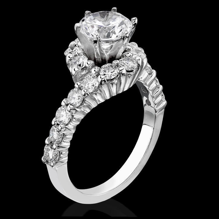 bands inspired img cut ring set vintage antique engagement legacy style diamond bezel round