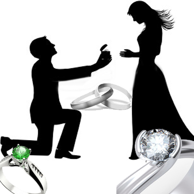 The Differences Between Engagement Rings, Wedding Bands and Diamond Engagement Rings
