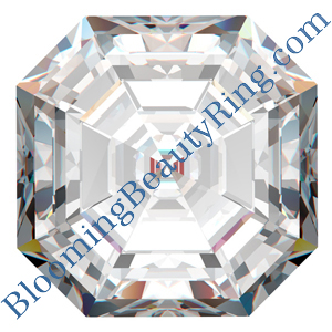 Asscher Shaped Diamonds