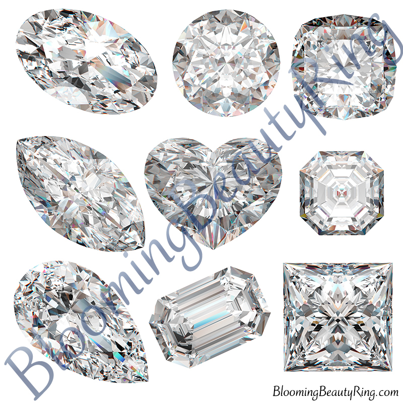 Top 3 Diamond Cuts and Shapes