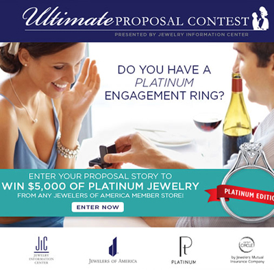 Win $5000 in Platinum Jewery