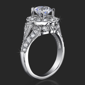 Art-Deco Engagement Rings