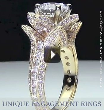 unique rings semi diamond fashion bezel ring jewellery quality solitaire ritani engagement set