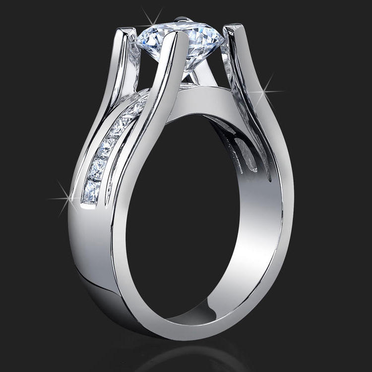 bands styles jewelry engagement for fashion vecalon band wedding ring