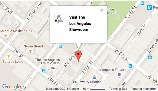 Map to our showroom