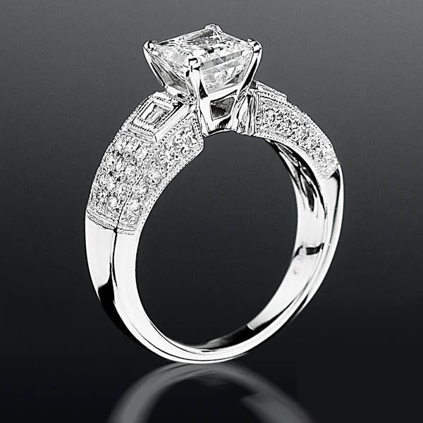 wide women band rings white rose magnificent bands in design gold diamond floral for