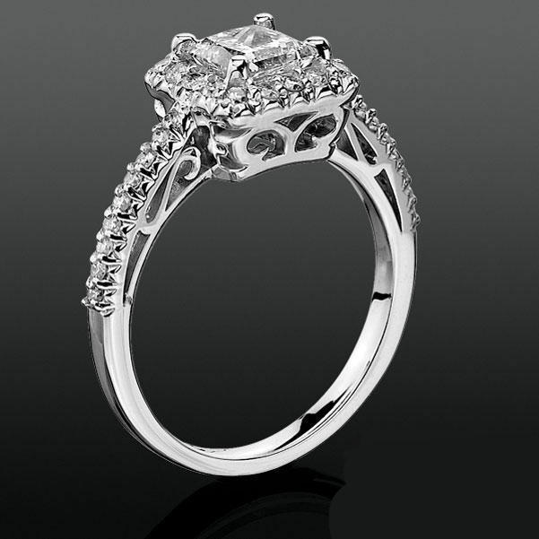 Diamond Crystal Ring Crown
