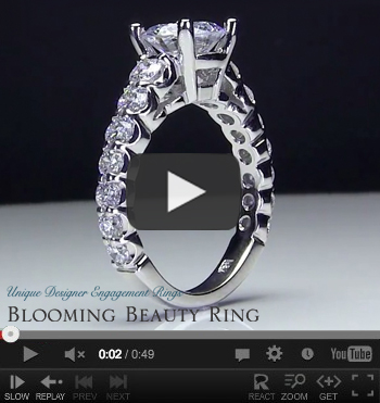 Antique Diamond Engagement Ring Video