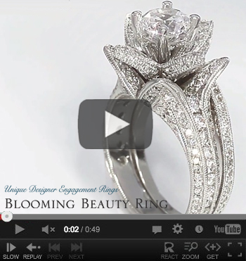 Our Newest Blooming Beauty Engagement Ring Set