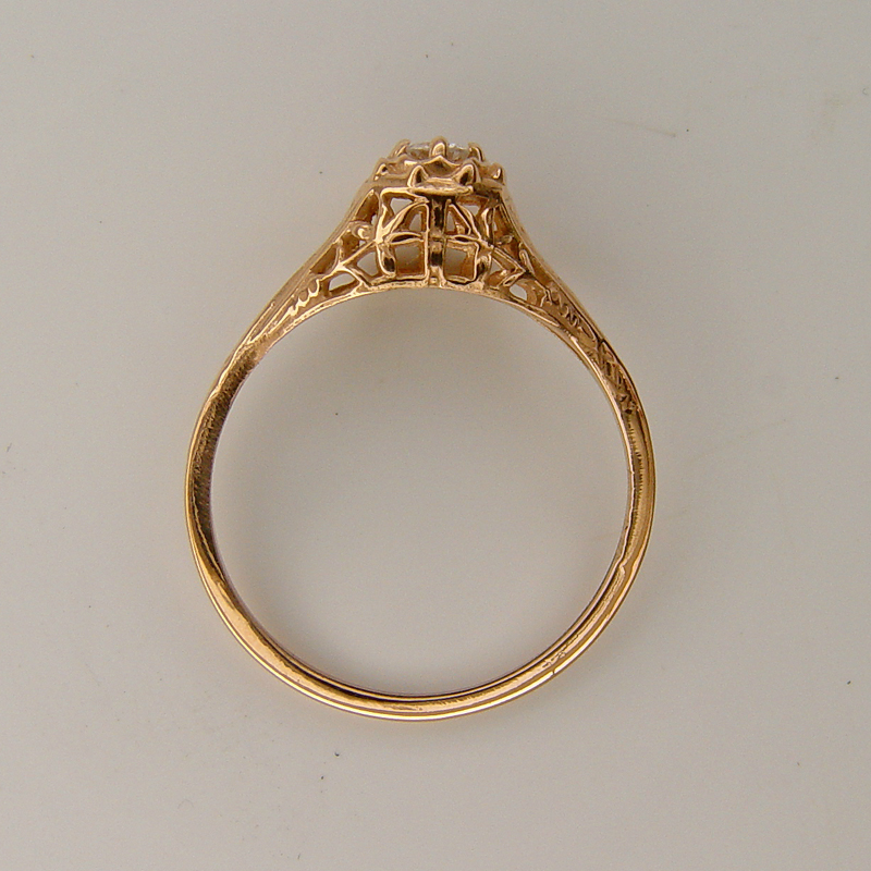 015fbbr Pre Set Antique Filigree Ring 06ct Round