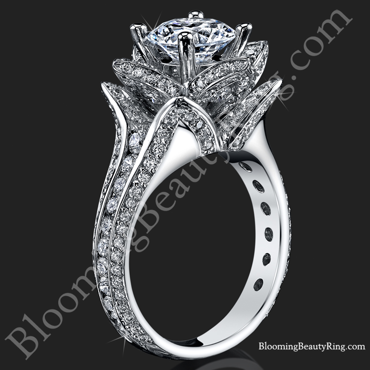 diamonds ascot pieces halo rings wedding split engagement band oval exotic unique diamond ring