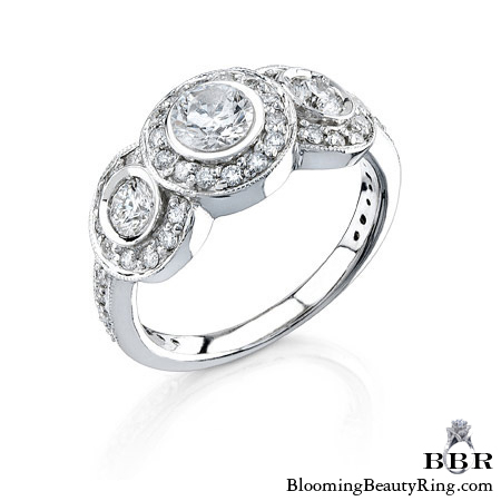 Newest Engagement Ring Design - nrd-1043