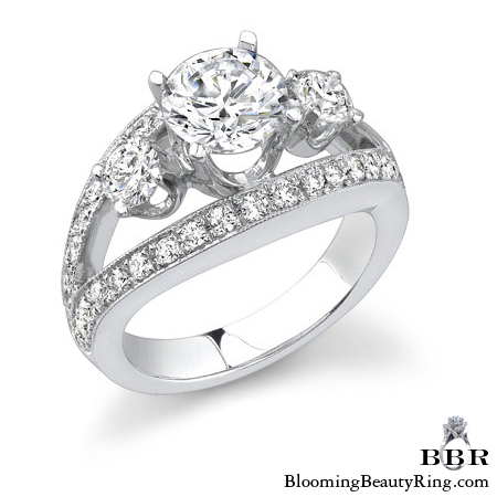 Newest Engagement Ring Design - nrd-318