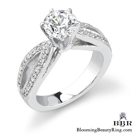 Newest Engagement Ring Design - nrd-335
