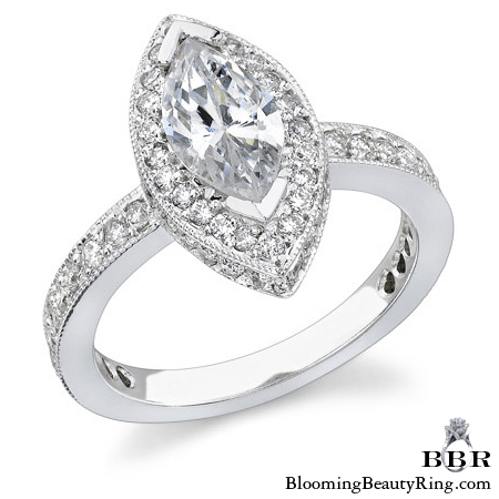 Newest Engagement Ring Design - nrd-349
