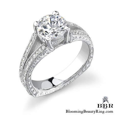Newest Engagement Ring Design - nrd-400