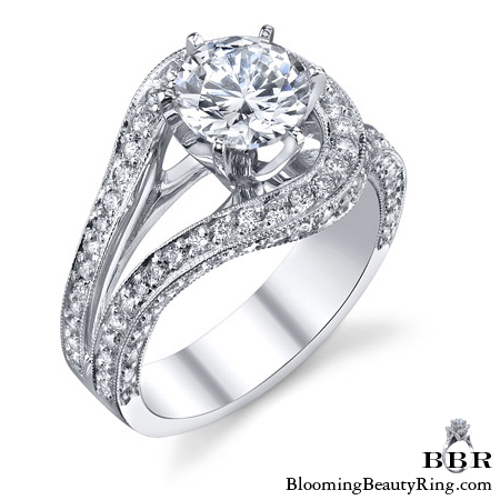 Newest Engagement Ring Design - nrd-530