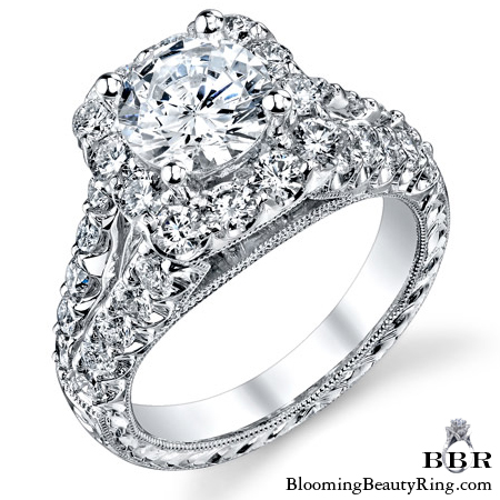 Newest Engagement Ring Design - nrd-567-1