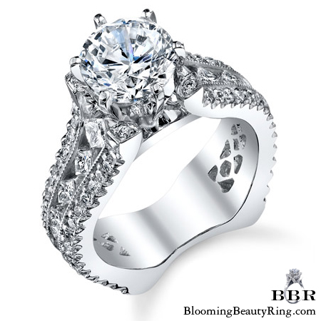 One of our Newest Engagement Ring Styles.