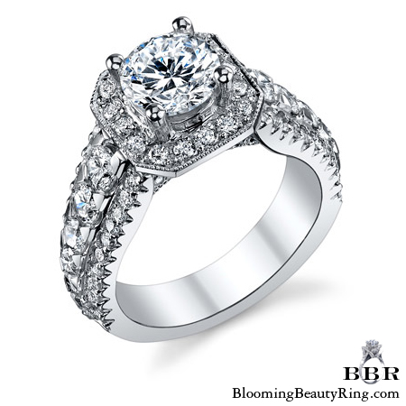 Newest Engagement Ring Design - nrd-579