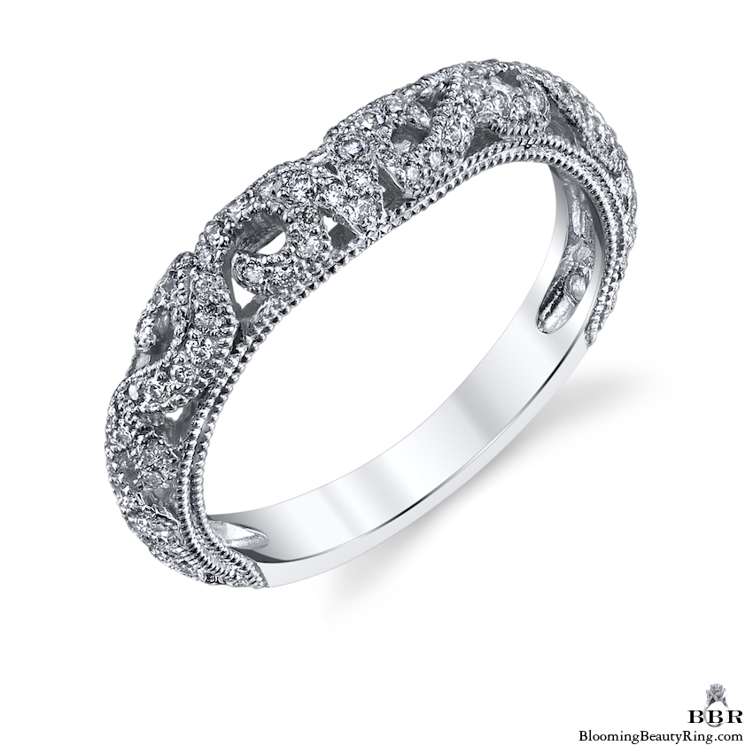 .35 ctw. Matching Diamond Wedding Band - bbr611b