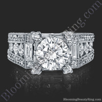 The Royal Throne Diamond Engagement Ring 2