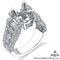 The Royal Throne Diamond Engagement Ring 3