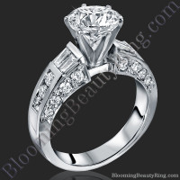 Traditional Style 6 Prong Engagement Ring 1