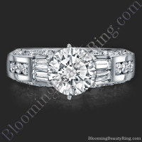 Traditional Style 6 Prong Engagement Ring 2