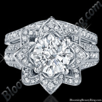 Original Large Blooming Beauty Flower Ring Set 1