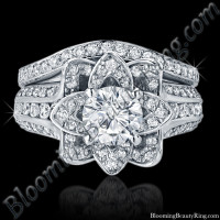 Original Small Blooming Beauty Flower Ring Set 1