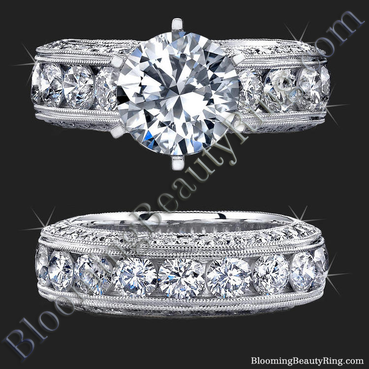 spectacular 4 20 ctw top quality engagement
