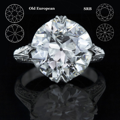 Old European Cut Diamond vs. The Traditional Round Brilliant Cut Diamond