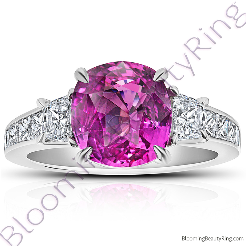 in rg hexagon gold nl ring rings rose jewelry pink with halo add colored cart fd engagement sapphire to gemstone