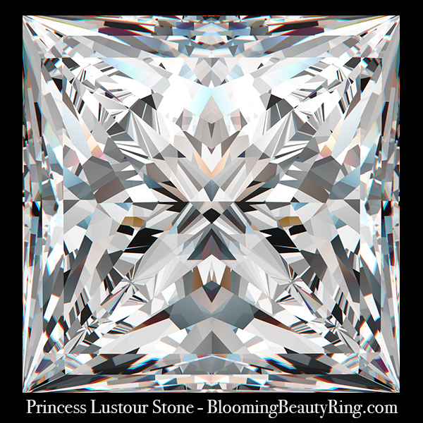 1.50 ct. Princess Lustour Stone